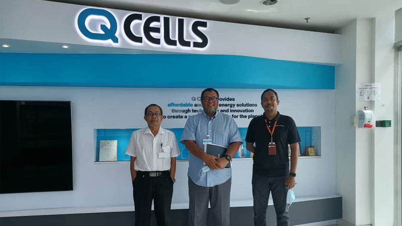 A Fruitful Meeting With Hanwha Q-Cells Malaysia Sdn Bhd