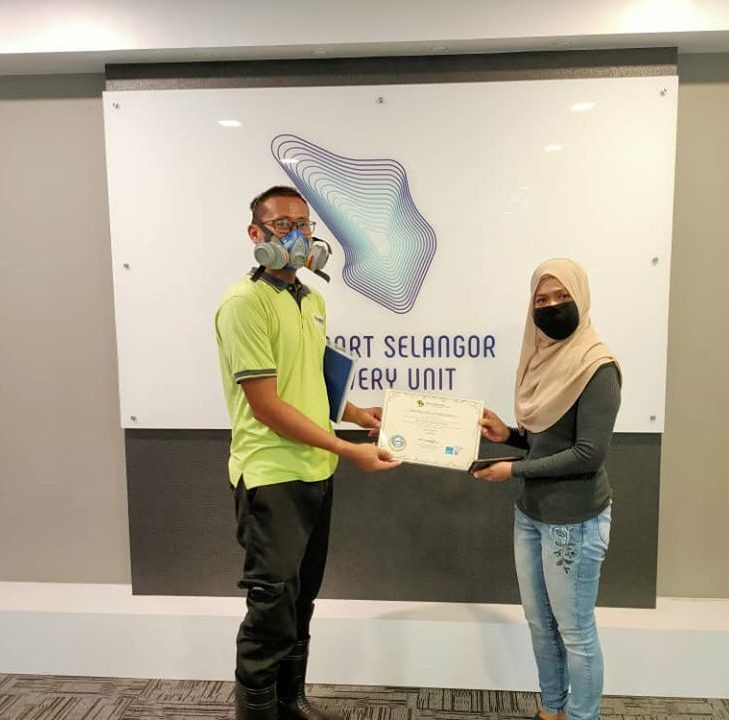 Disinfection And Sanitize Services At SSDU Innovations Sdn Bhd