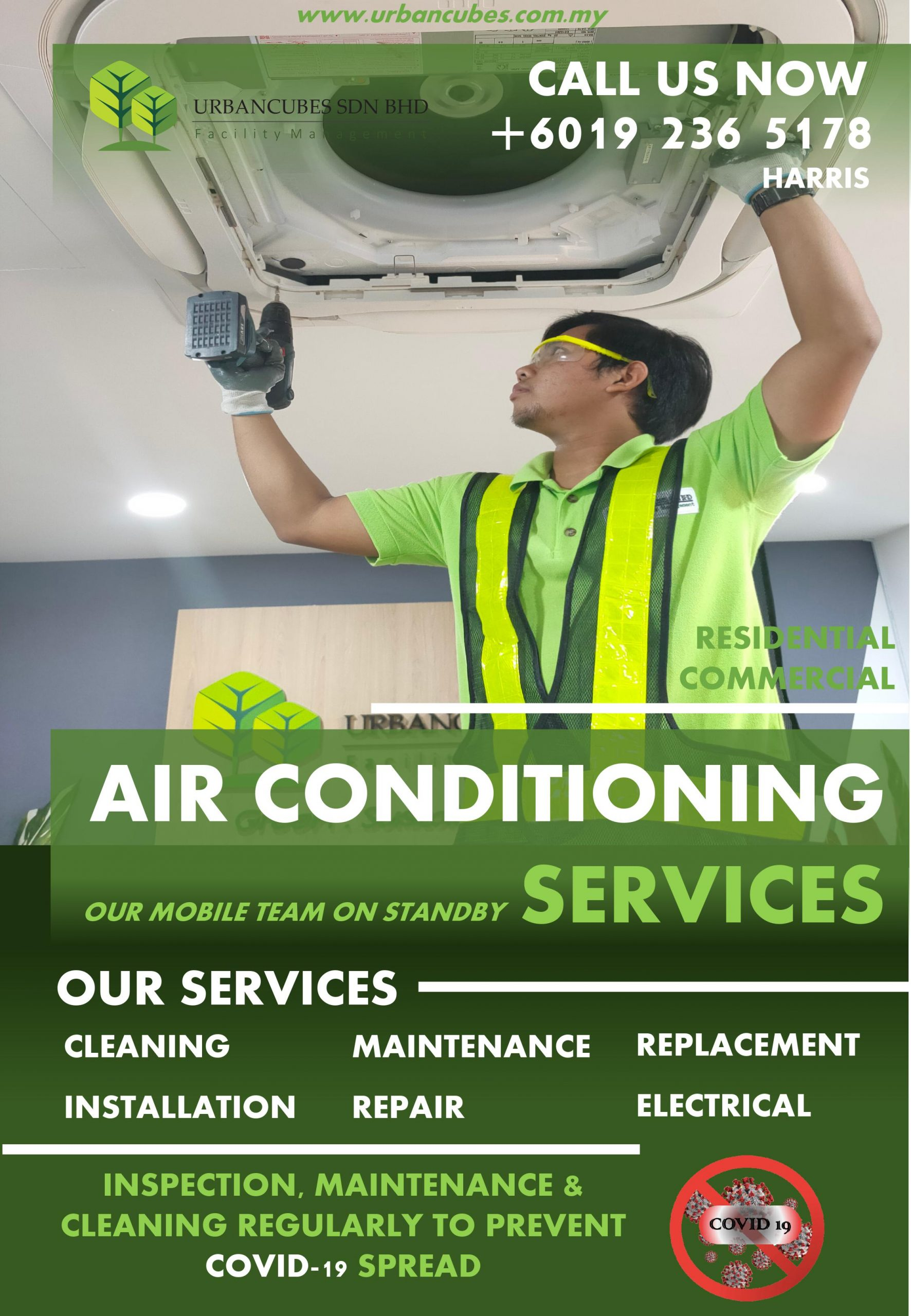 Urbancubes.com.my-Air Conditioning Services